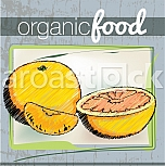 Organic Food illustration