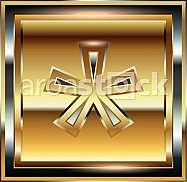 Ingot symbol illustration