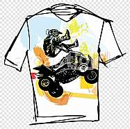 Sport tee illustration