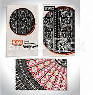 Ancient Business card design LETTER O