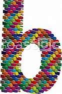 3d font letter b