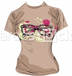 hipster T-shirt illustration