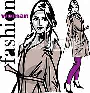 Fashion woman illustration