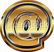Golden at Symbol