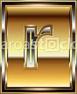 Ingot Font illustration Letter r