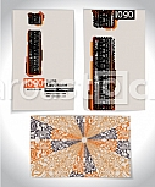 Ancient Business card design LETTER i