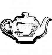 Teapot & Cup illustration