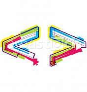 Colorful Grunge Symbol
