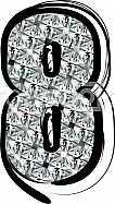 Diamond Font Number 8