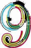Font illustration number 9