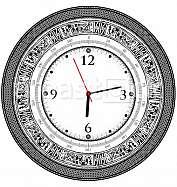 Vintage ancient clock