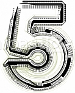 Font illustration number 5