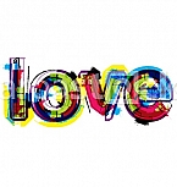 Artistic word love