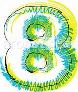 Font illustration number 8
