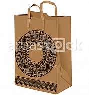 Paper bag illustration