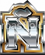 Fancy font Letter Ñ
