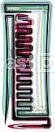 Font illustration letter l