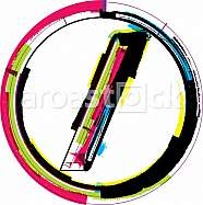 Colorful Grunge Symbol