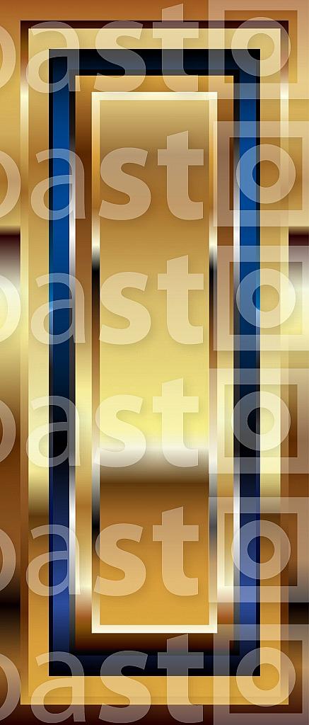 Golden Font Letter l