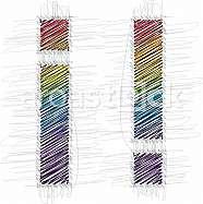 Hand drawn symbol, exclamation mark