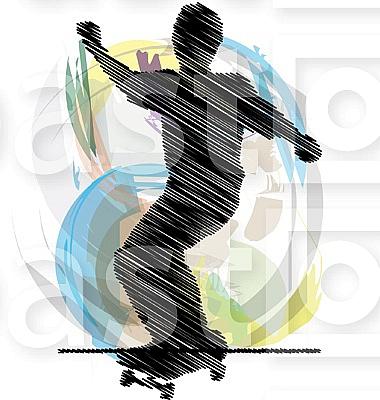 Skater illustration
