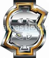 Fancy dollar symbol