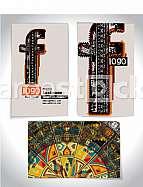 Ancient Business card design LETTER f