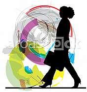 Businesswoman illustration