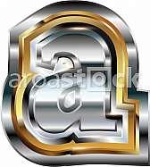 Fancy font Letter a