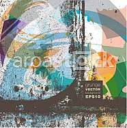 Grunge vector background illustration
