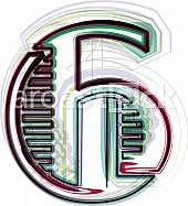 Font illustration number 6
