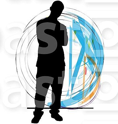 Teenagers illustration