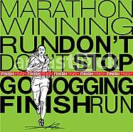runner sketch illustration