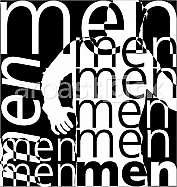 Men. Vector illustration