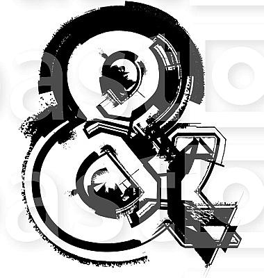 Grunge font