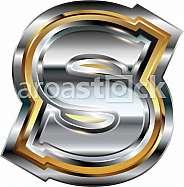 Fancy font Letter S