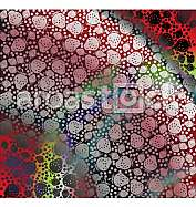 Strawberry pattern illustration