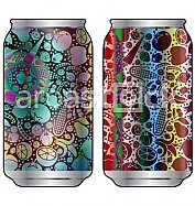 Aluminum packaging for beverages with cool design