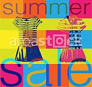 shopping sale banner