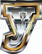 Fancy font Letter y