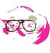 Eyeglasses illustration