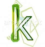 Green letter