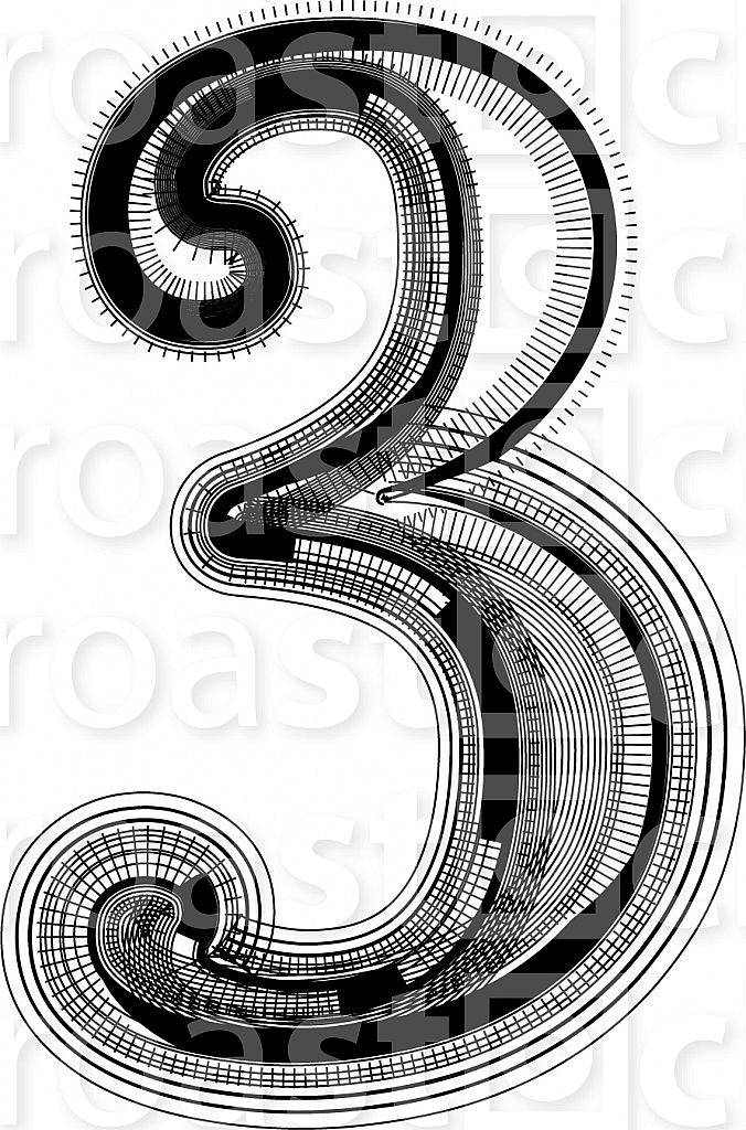 Font illustration number 3